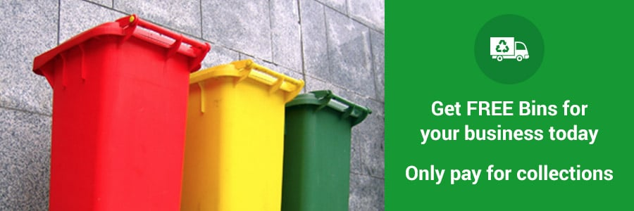 Get FREE Bins for your business today. Only pay for collections.