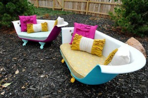 bath tub recycling idea