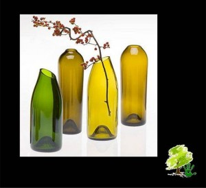 wine bottle recycling idea