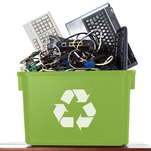 electrical recycling points