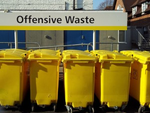 offensive waste collection