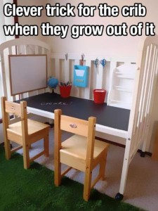 Recycle children's cot idea