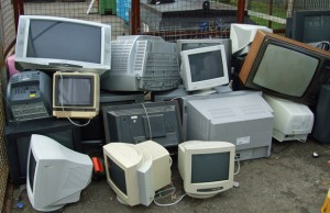 Electronic waste causes pollution at Ghana dump