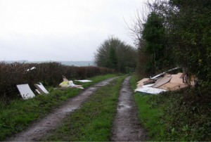 Man fined for fly-tipping in Gloucestershire