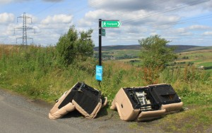 Fly-tipping crime on the rise in England