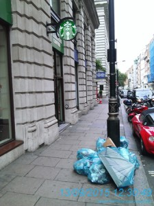 Starbucks fined £160,000 for waste offences in London
