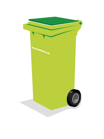 commercial waste disposal wheelie bin