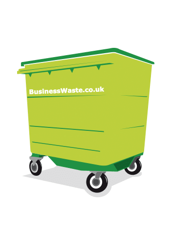 Waste collection wheelie bins