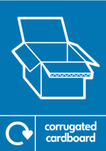 cardboard waste recycling collection
